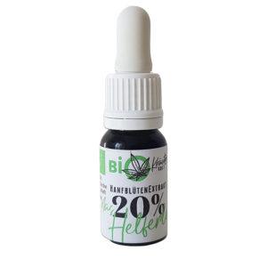Bio Hanfblütenextrax 20 Prozent